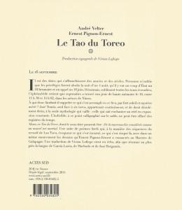 Le Tao du Toreo 1